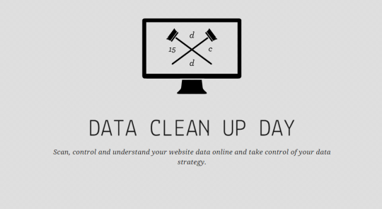 Data Clean Up Day